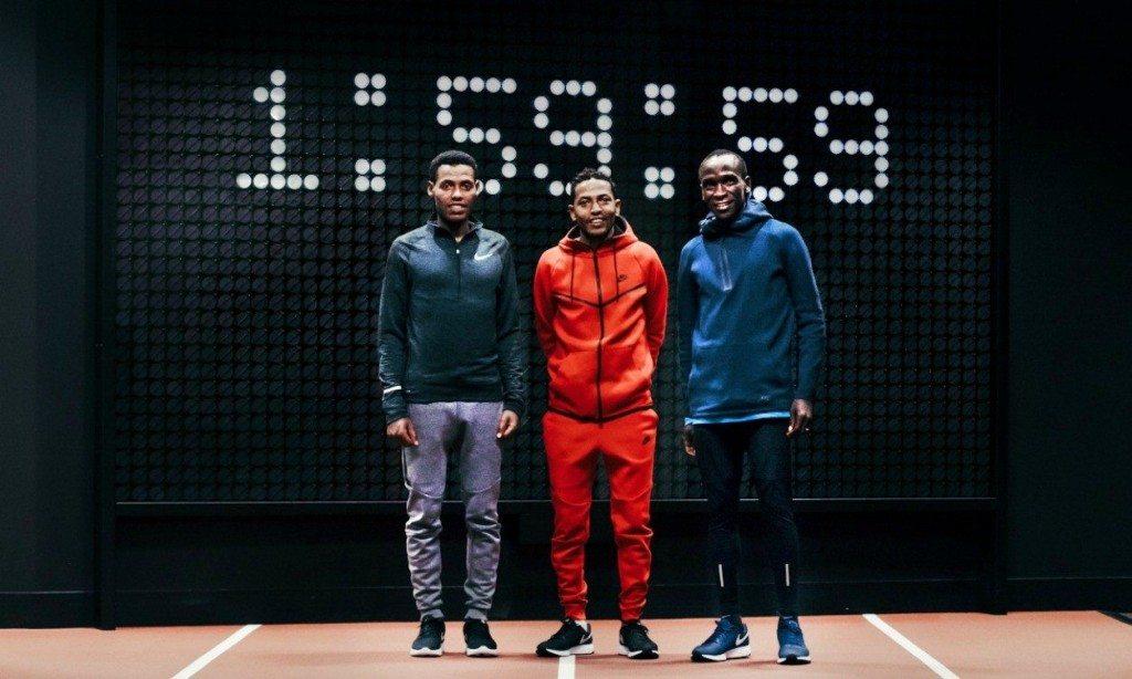 Correre sotto le 2 ore nella Maratona? Nike lancia la sfida