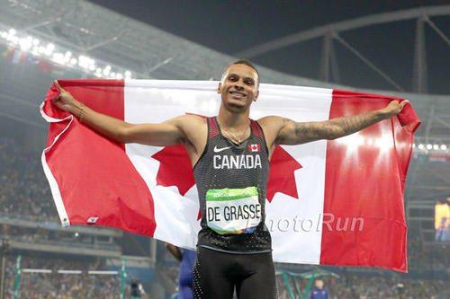 Il velocista Andre De Grasse è il miglior  sportivo canadese dell'anno