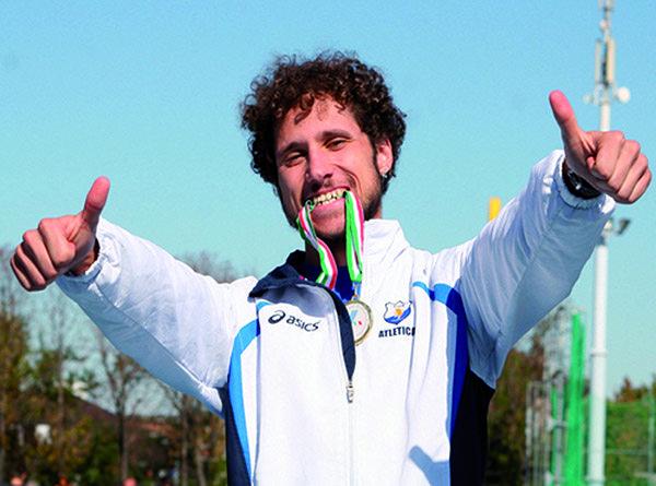 Federico Tontodonati premiato a Torino con la Medaglia di bronzo al merito sportivo