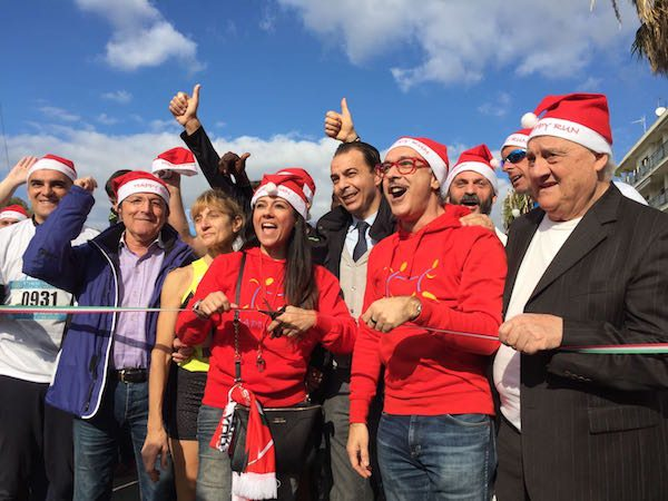 La Happy Run for Christmas della Versace raccoglie 3.400 euro!