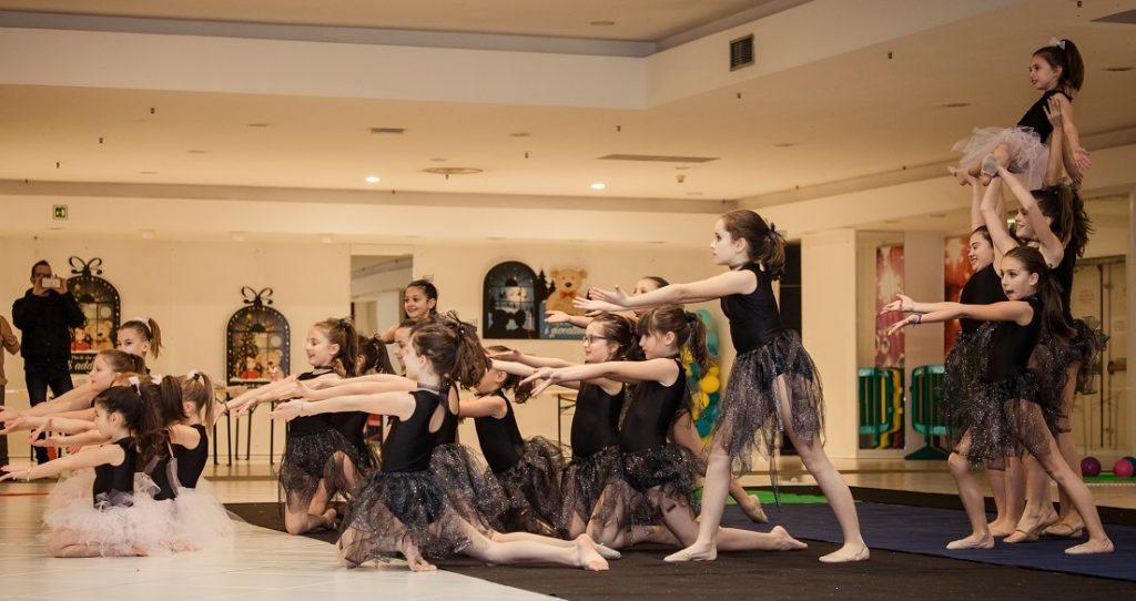Esibizioni di ginnastica ritmica e atletica leggera con i giovani della Nuova Atletica Tavagnacco