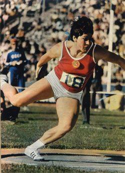 Lancio del disco:  E' morta Faina Melnik, fu campionessa olimpica nel 1972