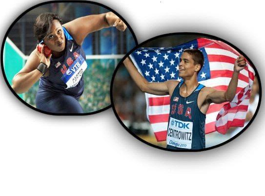 Usa atleti dell'anno 2016: Vincono la pesista Michelle Carter e il mezzofondista  Matthew Centrowitz