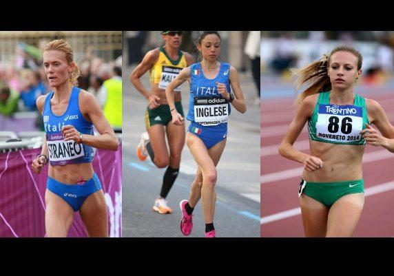 We Run Rome 2106: Parata di stelle con le azzurre Valeria Straneo, Veronica Inglese e Federica Del Buono