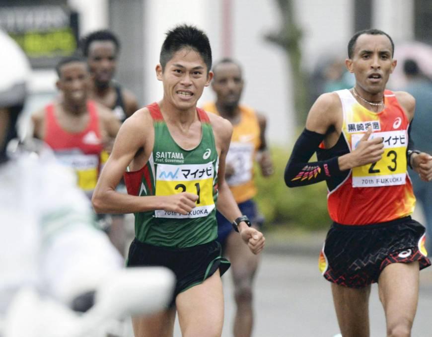 Risultati maratona di Fukuoka: Vince Yemane Tsegay, bella sorpresa del giapponese Kawauchi terzo
