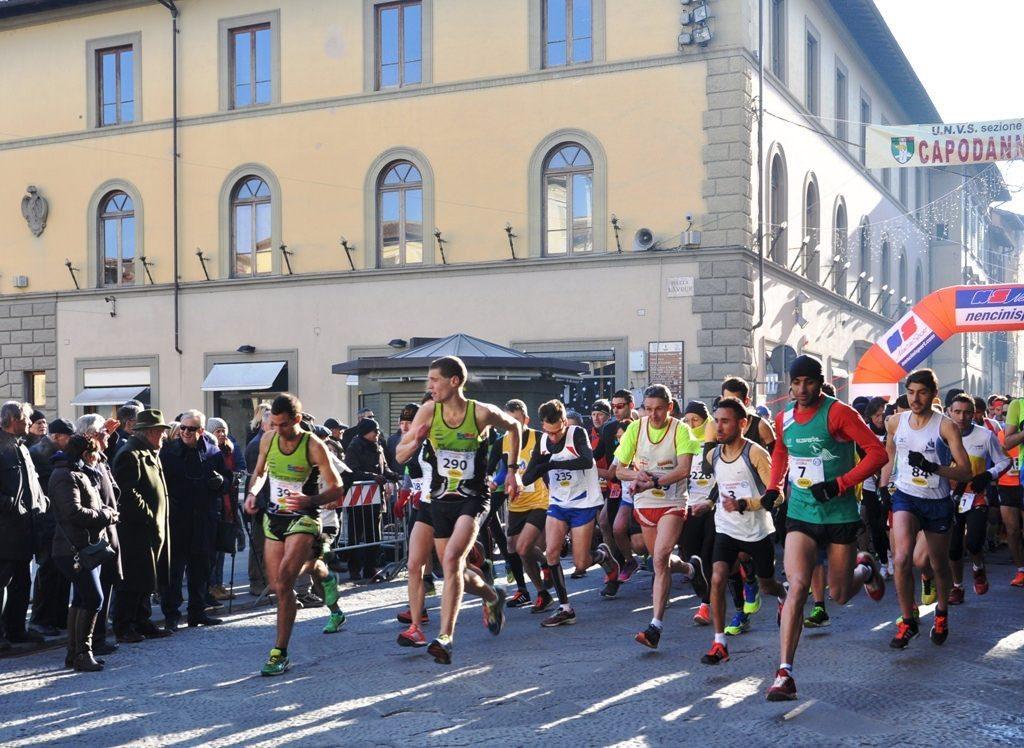 """Risultati """"Capodanno di corsa"""": A San Giovanni Valdarno vincono Jilali Jamali e Silvia Tamburi"""