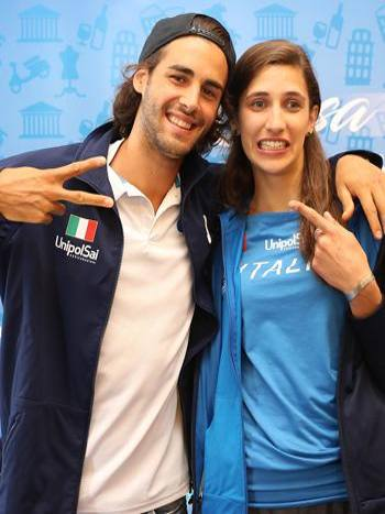 Gianmarco Tamberi e Alessia Trost in ritiro in Sudafrica