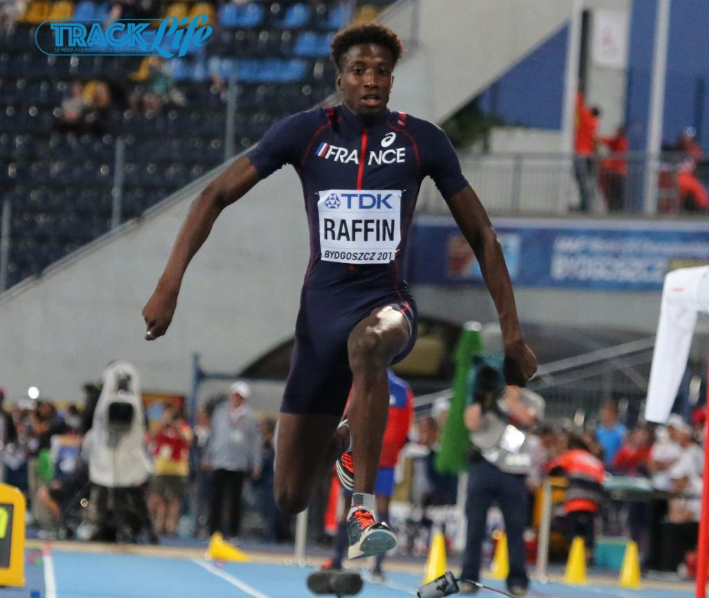 Super triplo in Francia, Melvin Raffin batte il record Junior di Tamgho