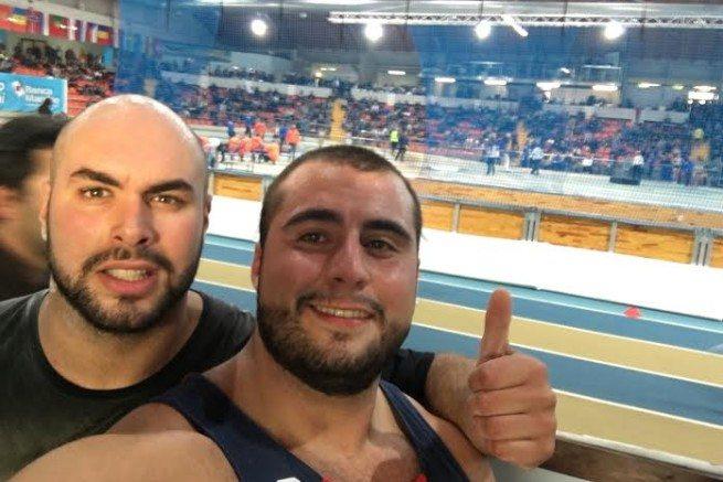 Nel peso Secci e Bianchetti lanciano a m.19,04