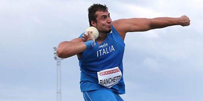 Stagione Indoor 2017, si parte: Esordio nel peso per Sebastiano Bianchetti- Tutte le sedi italiane