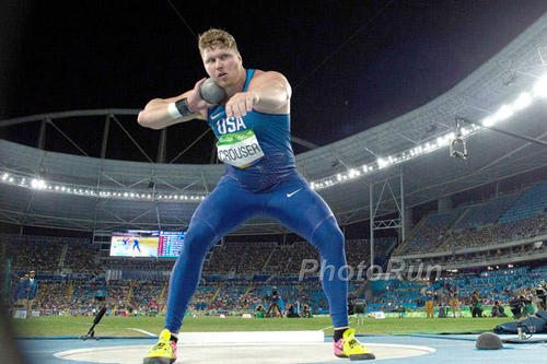 Ryan Crouser vuole il record del Mondo di getto del peso