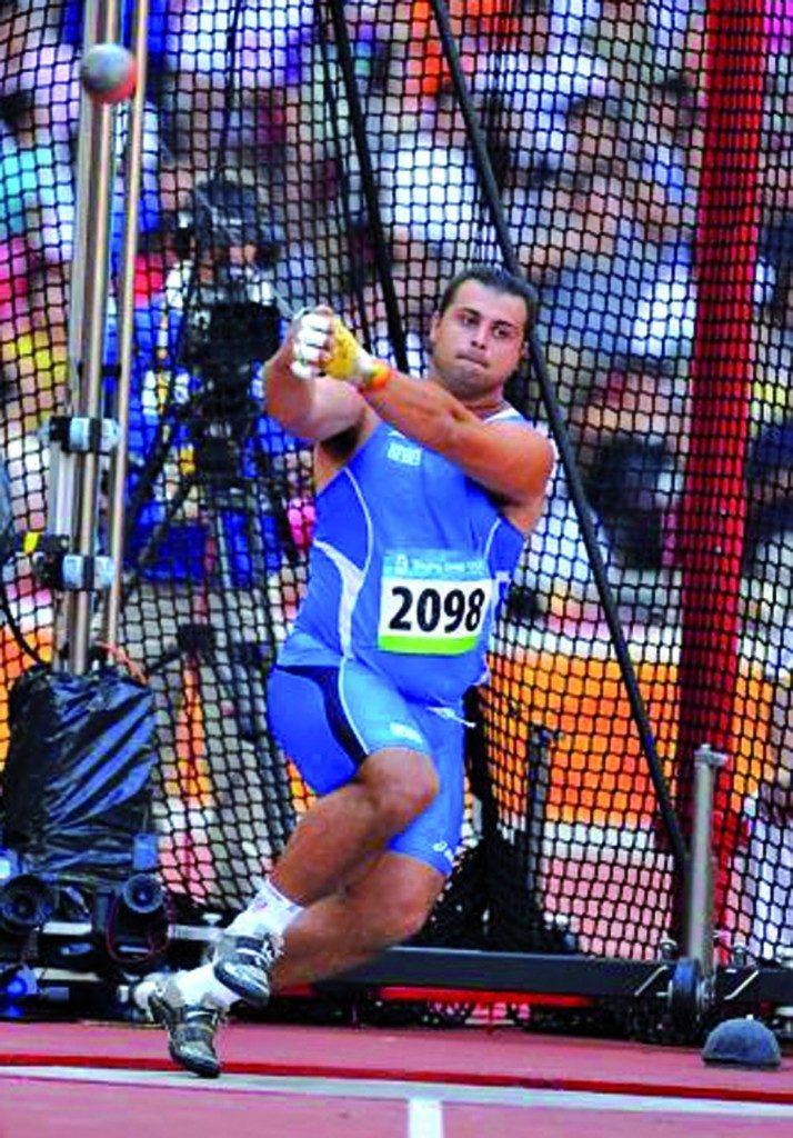 Marco Lingua sfiora i 74 metri nel martello ai Campionati  Invernali lanci