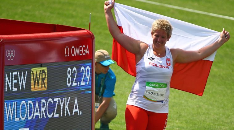 Anita Wlodarczyk vince il premio per la miglior prestazione mondiale  femminile dell'anno