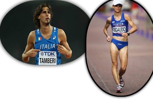 Gianmarco Tamberi e Elisa Rigaudo guidano  gli azzurri presenti nelle liste mondiali 2016