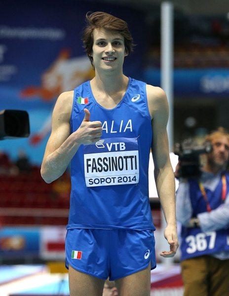 Marco Fassinotti in ripresa dall'infortunio al piede