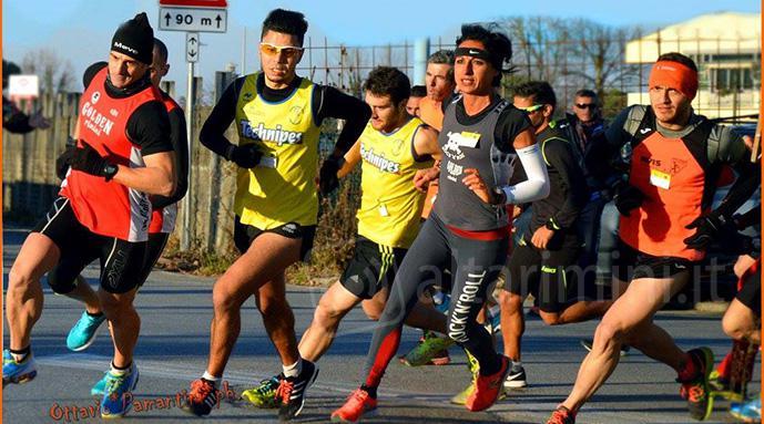 Risultati Corrida di San Silvestro di Rimini: vittoria per Moroni e Fuschini