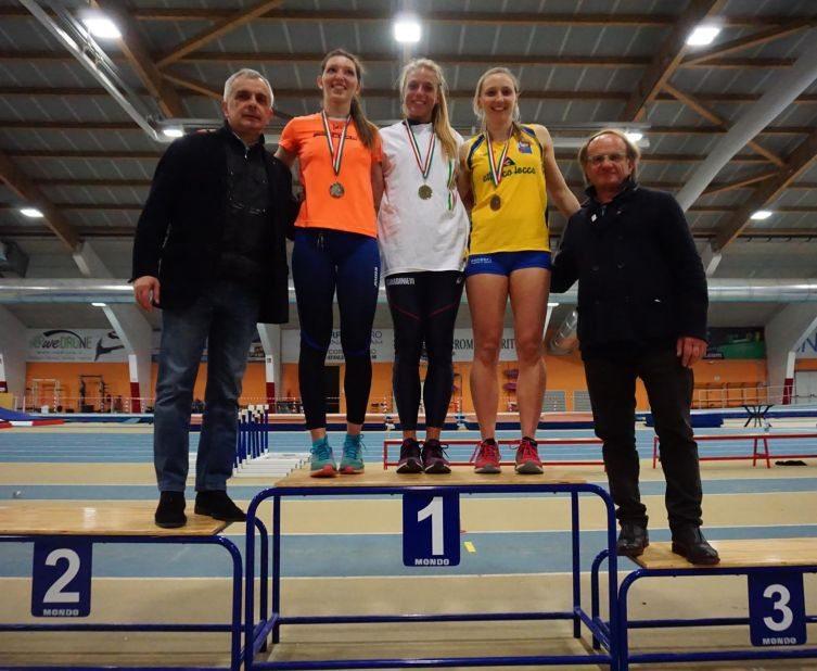 OttaviaCestonaro vince i Campionati Italiani di prove multiple indoor