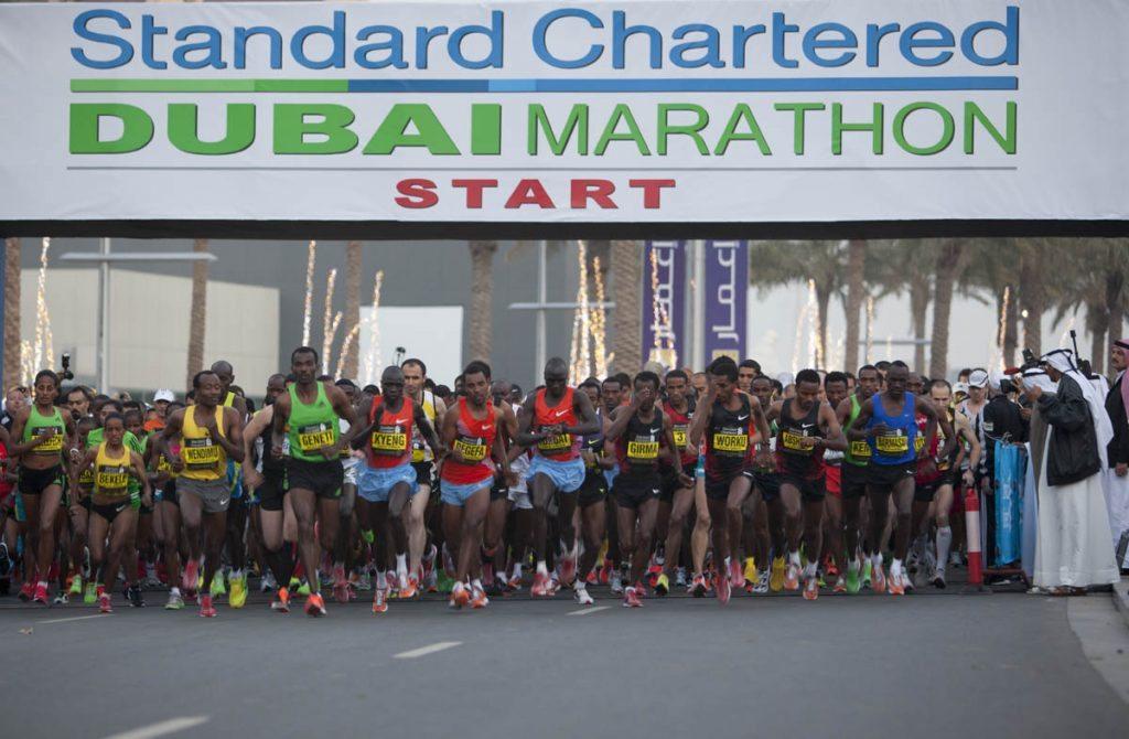 Pronti 250.000 dollari per battere  il record del mondo nella maratona  di Dubai