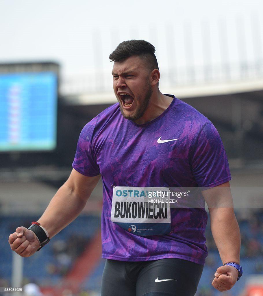 Konrad Bukowiecki batte David Storl a Ostrava nel peso