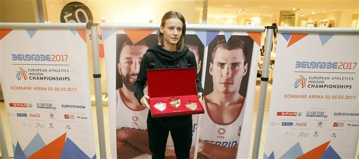 Presentate le medaglie dei Campionati Europei Indoor di Belgrado (3-5 marzo)