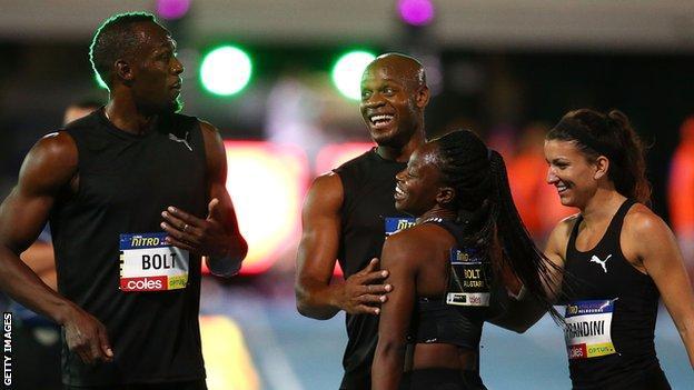 Usain Bolt vince in Australia nella staffetta mista