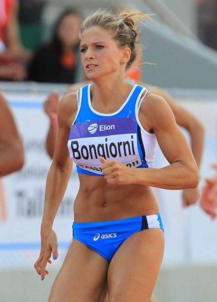 Anna Bongiorni ottima gara a Mondeville (Francia) nei 60 metri