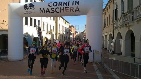 """In 500 a Mestre per il """"Corri in Maschera"""""""