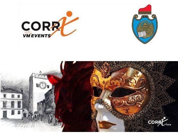 """""""Corri in Maschera"""": domenica 26 febbraio il Carnevale di Venezia si festeggia correndo nel centro di Mestre"""