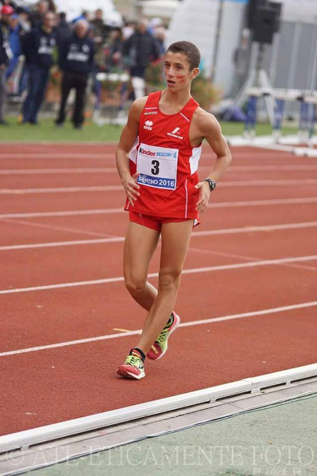 Italiani Allievi Ancona, nella marcia 5.000 metri vittoria per Davide Finocchietti