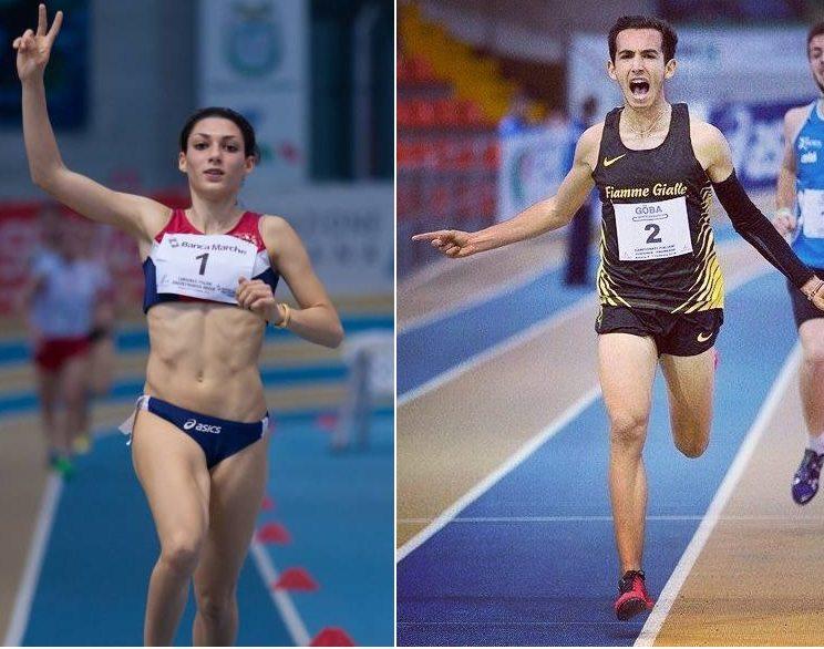 Assoluti Ancona: Nei 1500 metri oro per Giulia Aprile e Yassin Bouih