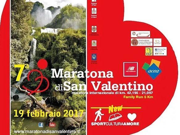Maratona di San Valentino,  a Terni si corre Domenica 19 febbraio