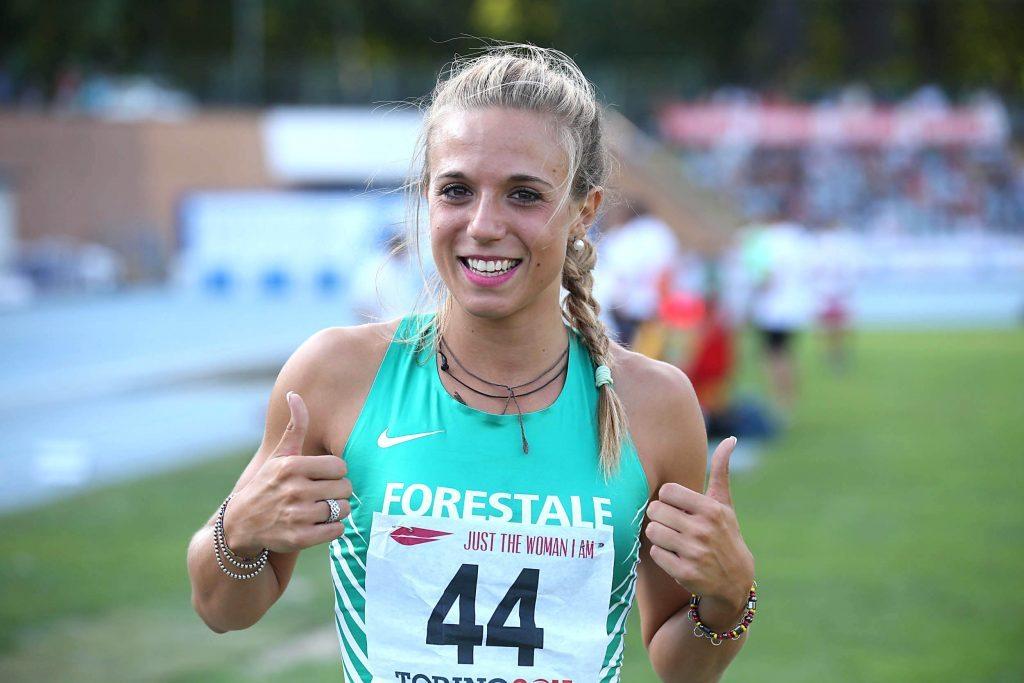 Italiani under 23: Ottavia Castonaro bissa l'oro di ieri e vince anche il triplo