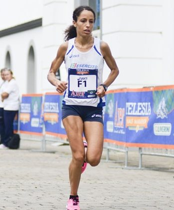 Mostra d'Oltremare Half Marathon di Napoli, ottimo secondo posto per l'azzurra  Laila Soufyane