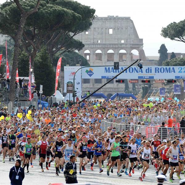Maratona di Roma: arrivati nella capitale i top runners