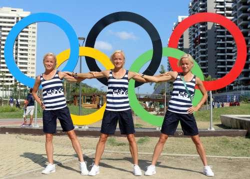 Le tre gemelle Luik attese alla Maratona di Vienna