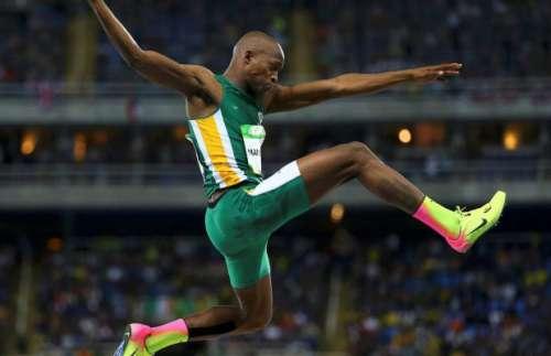 Luvo Manyonga vola a m. 8.62 nel lungo, miglior salto dal 2009- Il Video