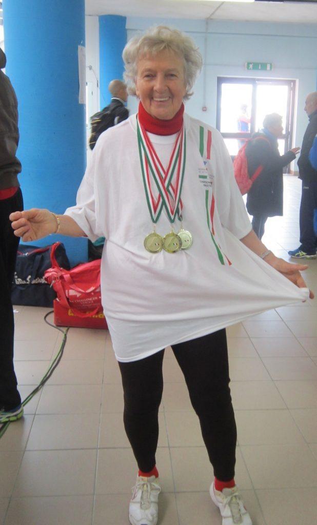 Master della NAF vittoriosi a Campionati Indoor ad Ancona