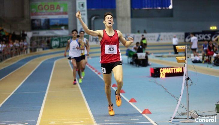 """Simone Barontini campione italiano degli 800 metri ospite di """"Generazione Atletica"""""""