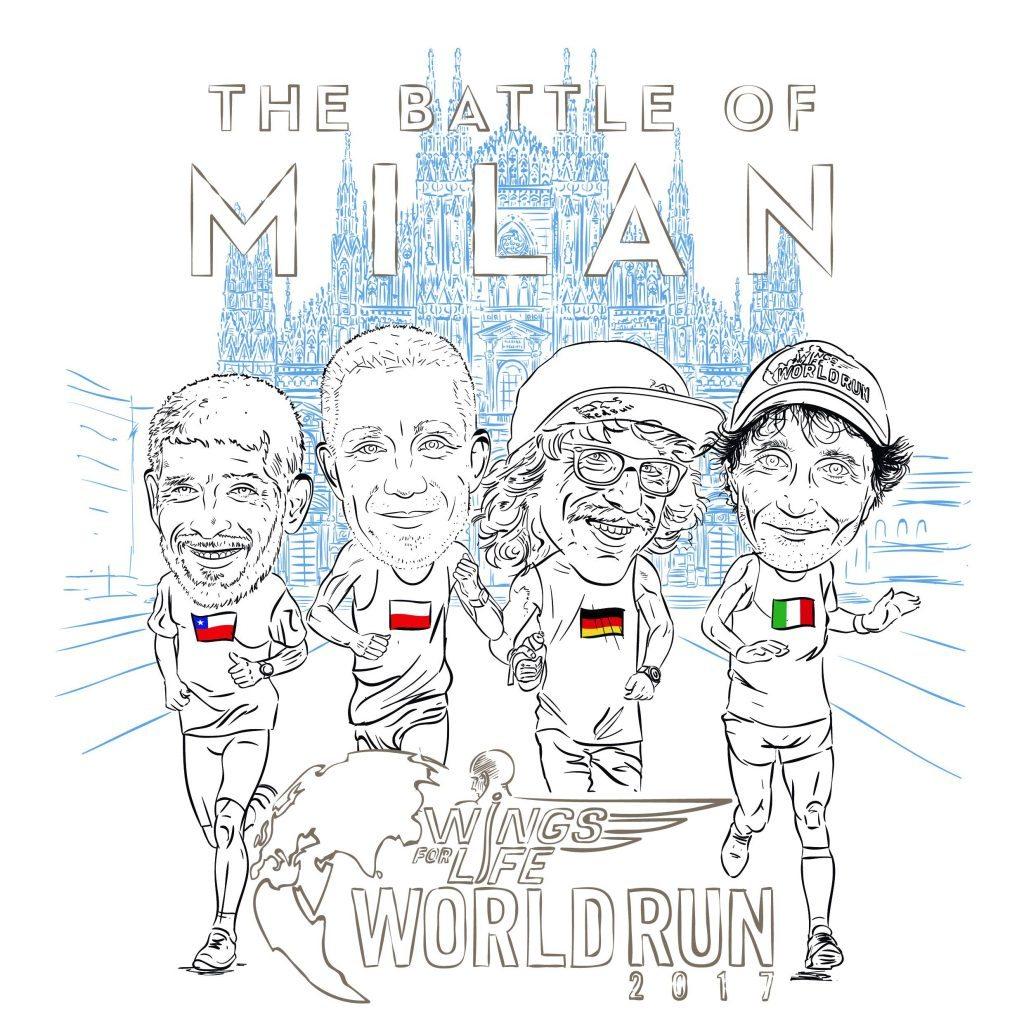 WINGS FOR LIFE WORLD RUN 2017:  RIUSCIRÀ GIORGIO CALCATERRA A DIFENDERE IL TITOLO MONDIALE?