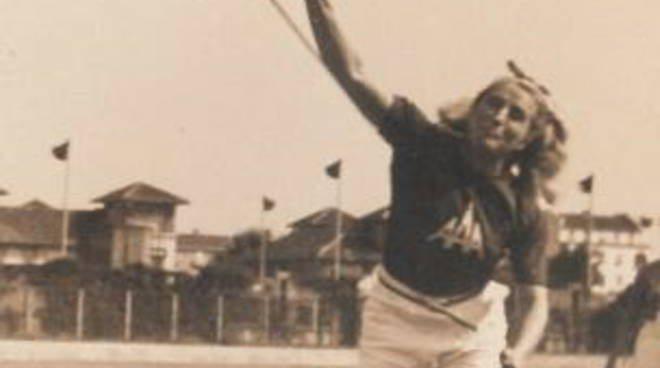 Giavellotto in lutto per la scomparsa di Angela Cressi, ex primatista italiana