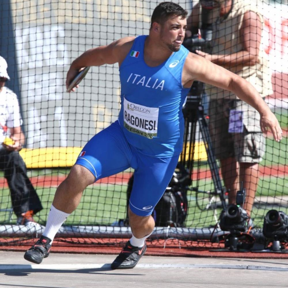 Gian Piero Ragonesi nel disco avvicina i 60 metri