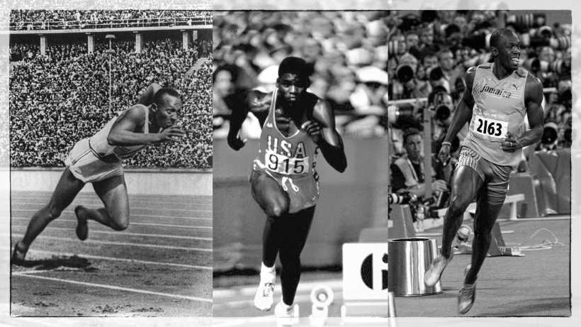 Video dei 100 metri della leggenda, cosa sarebbe successo se Owens, Lewis e Bolt avessero corso insieme