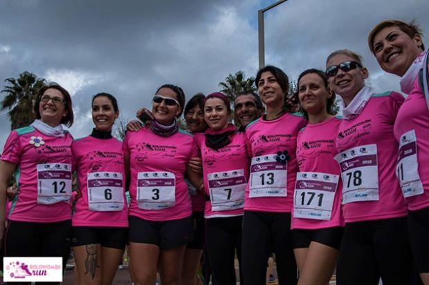 """A Cagliari per la """"Solo Women Run"""" raggiunte le 5.000 iscritte"""