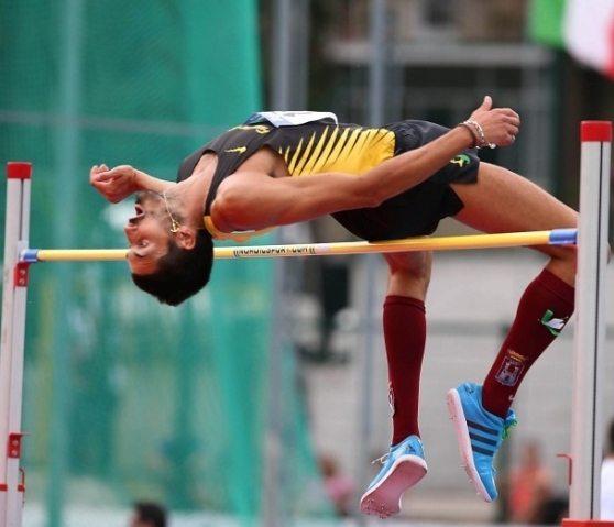 High Jump Contest a Siena con Andrea Lemmi e Elena Vallortigara