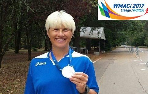 Mondiali Master Daegu: Natalia Marcenco conquista il primo oro azzurro