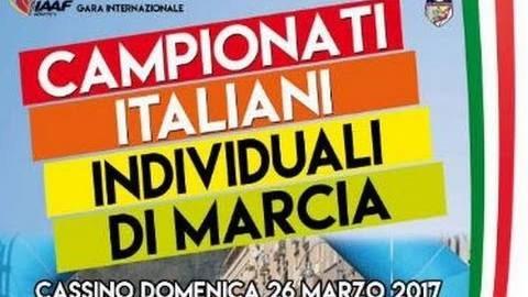 Marcia, la diretta da Cassino del Campionato Italiano di marcia 20Km