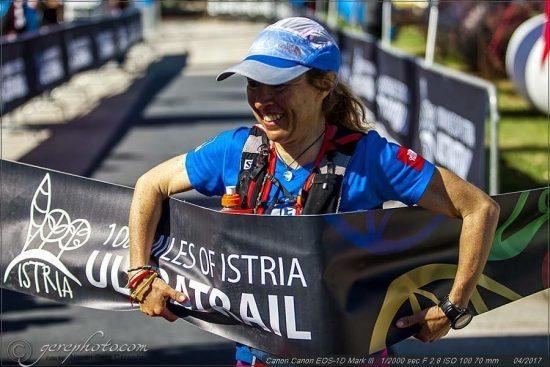 Francesca Canepa, ultratrailer, trionfa alla 100 miglia dell'Istria in Croazia- di  Matteo SIMONE