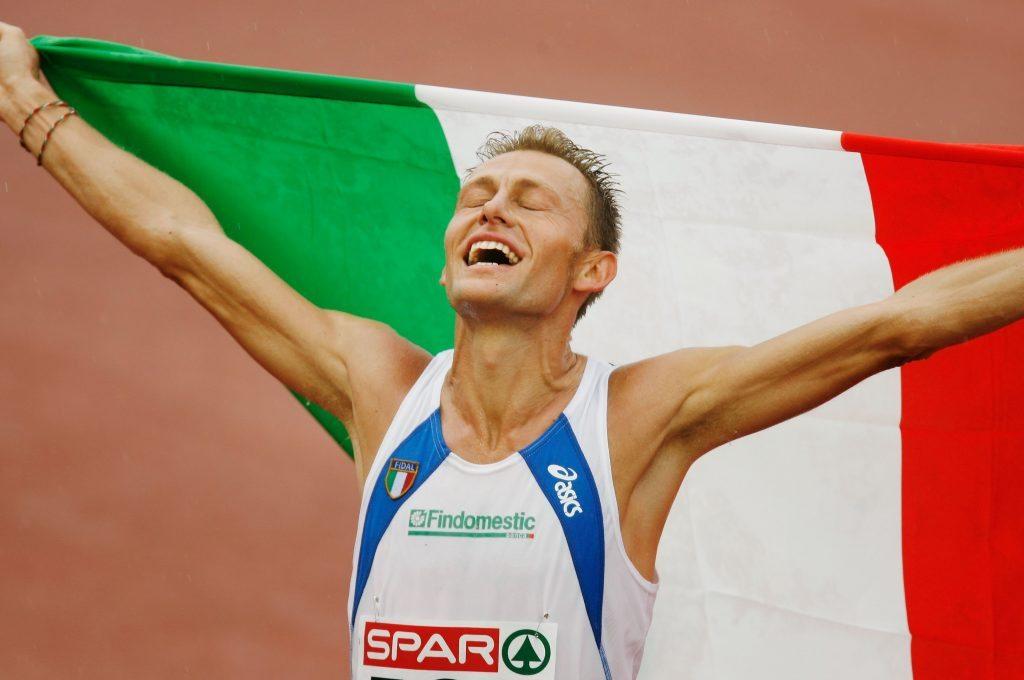 Stefano Baldini commentatore d'eccezione della maratona di Parigi live su Eurosport 1