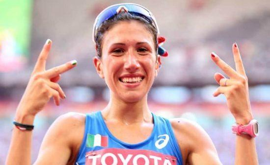 Antonella Palmisano, strepitoso record italiano nei 10.000 metri di marcia su pista