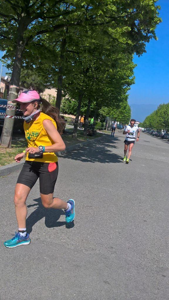 Francesca Innocenti, Vice Campionessa Italiana 12 ore corsa su strada- di Matteo SIMONE